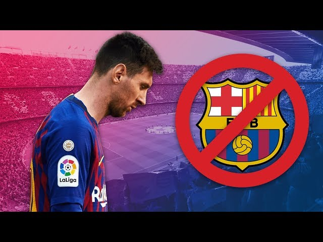 The day Messi almost left Barcelona - Oh My Goal