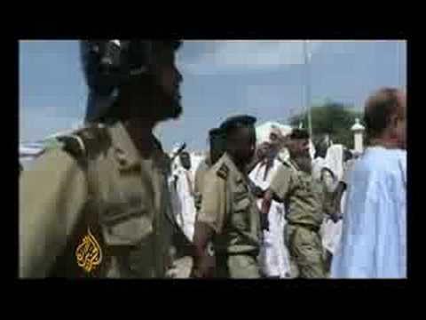 Protests for and against Mauritania's coup - 07 Aug 08