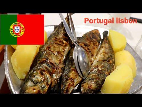 #seafoodlisbon #grilledseafood Portuguese Fish #carapaus For Dinner At #supermario #lisboa #Portugal