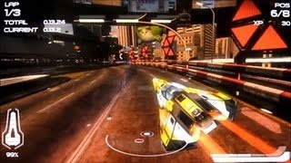 Wipeout 2048 PS Vita - Gameplay #1