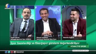 Mustafa Sağlam ile A'dan Z'ye Spor 11 01 2020
