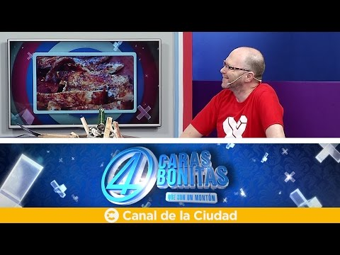"""<h3 class=""""list-group-item-title"""">Noticias, humor y los mitos y verdades del asado con Diego Golombek - 4 Caras Bonitas</h3>"""