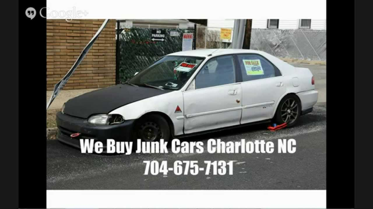 We Buy Junk Cars Charlotte NC - Call 704-675-7131 - Cash For Junk ...