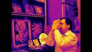 Karpur Gouram Kirtanawataram Sansar Saram Bhujgenra haram-Prarthana
