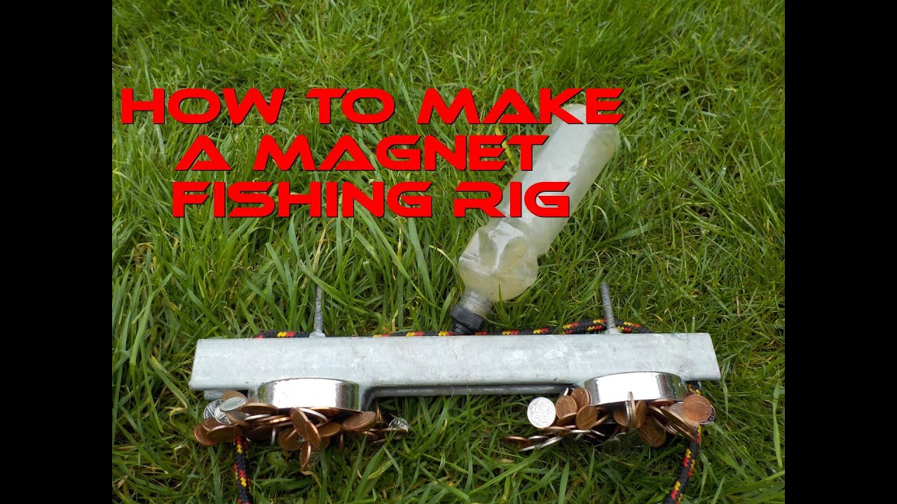 Magnet fishing how to make the best magnet fishing rig for Fishing magnets for sale