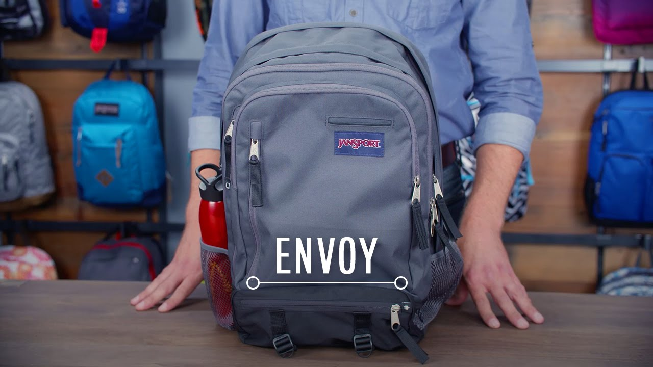 JanSport Pack Review: Envoy - YouTube