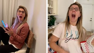 Husband Hilariously Scares Wife Over Six Years