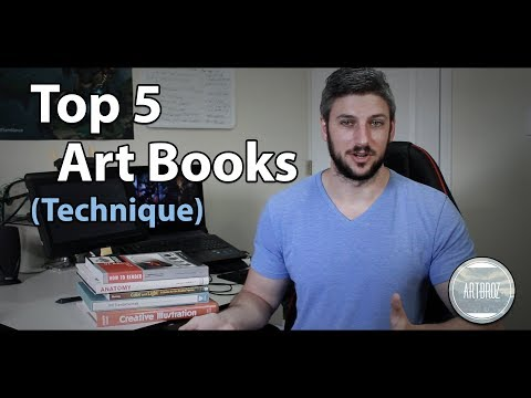 Top 5 Art Books - Technique