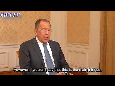 Lavrov Interview on Trump, Putin, Syria, ISIS, Ukraine and N
