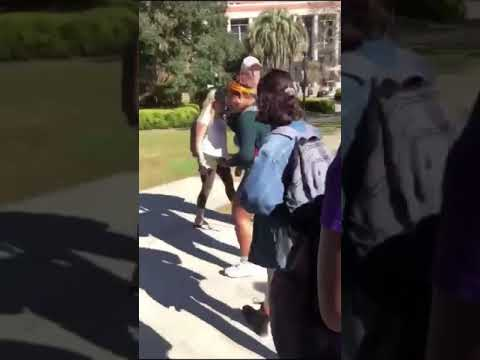 Florida Front Row - FSU Student Arrested For Throwing Chocolate Milk On Volunteers