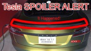Tesla Model S 100D SPOILER ALERT!