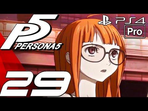 Persona 5 English Walkthrough Part 29 Okumura Boss Fight & Tower Confidant Ps4 Pro
