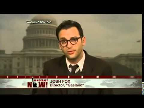 Gasland Director Josh Fox Arrested at Congressional Hearing on Natural Gas Fracking