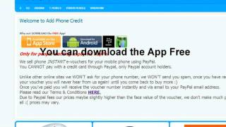 Top Up Voucher using PAYPAL pay as you go ( payg ) pin phone vodafone o2 orange 3 mobile virgin