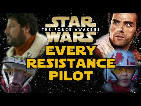 All Resistance Pilots (Canon) - Star Wars Explained