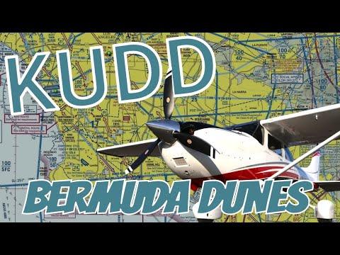 Flying To Bermuda Dunes Airport (KUDD)