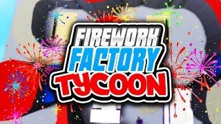 FACTORIA DE FIREWORK TYCOON con Seniac Roblox