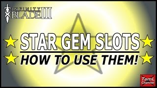 Infinity Blade 3: HOW TO USE STAR GEM SLOTS!