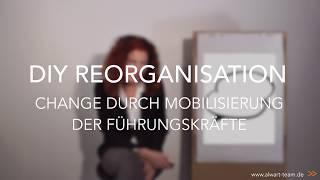 DIY Reorganisation - Change durch Mobilisierung der Führungskräfte