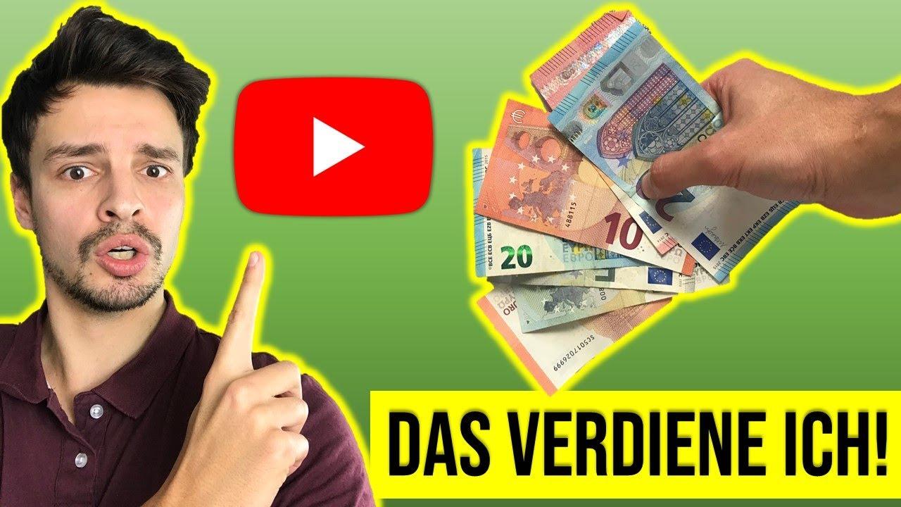 wie viel geld mit youtube verdienen