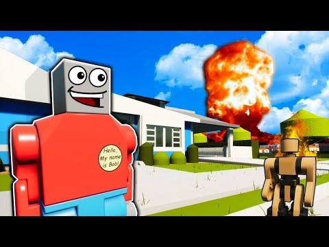 Surviving the Nuclear Apocalypse in Lego Fallout Creations! - Brick Rigs Gameplay |