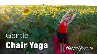 Chair Yoga | Happy Yoga with Sarah Starr Gentle Chair Yoga