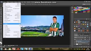 Photoshop Dersleri 1 | Adobe Photoshop CS6 ile basit kapak fotoğrafı yapımı