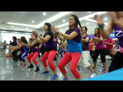 Zumba SM Downtown San Fernando (10-11-15)