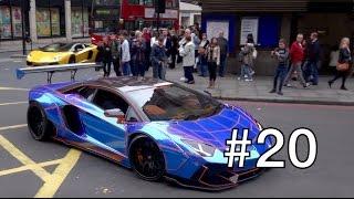 London Supercar Insanity #20 - Liberty Walk Aventador, Martini 918, Turquoise 599 & More!