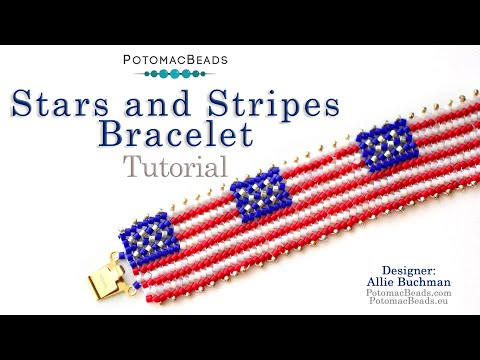 Stars & Stripes Bracelet (Tutorial)