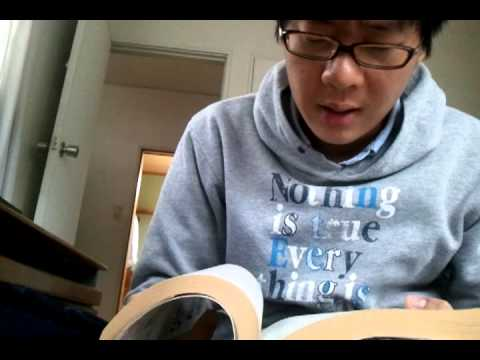 Japanese boy can read Korean!!3