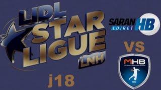 Saran vs  Montpellier Handball LIDL STARLIGUE j18