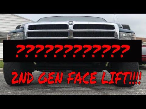 4th Gen Bumper on  2nd Gen Dodge Ram