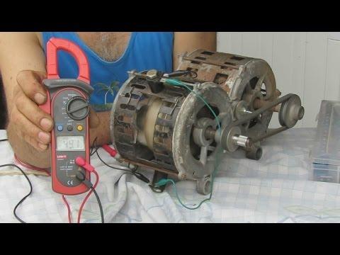 Generador Electrico Con Un Motor Quemado Electric