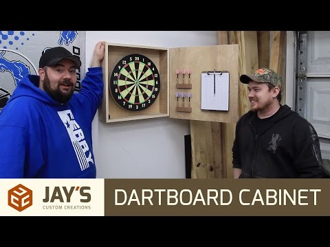 Making a Dartboard Cabinet with Nick Ferry - 235