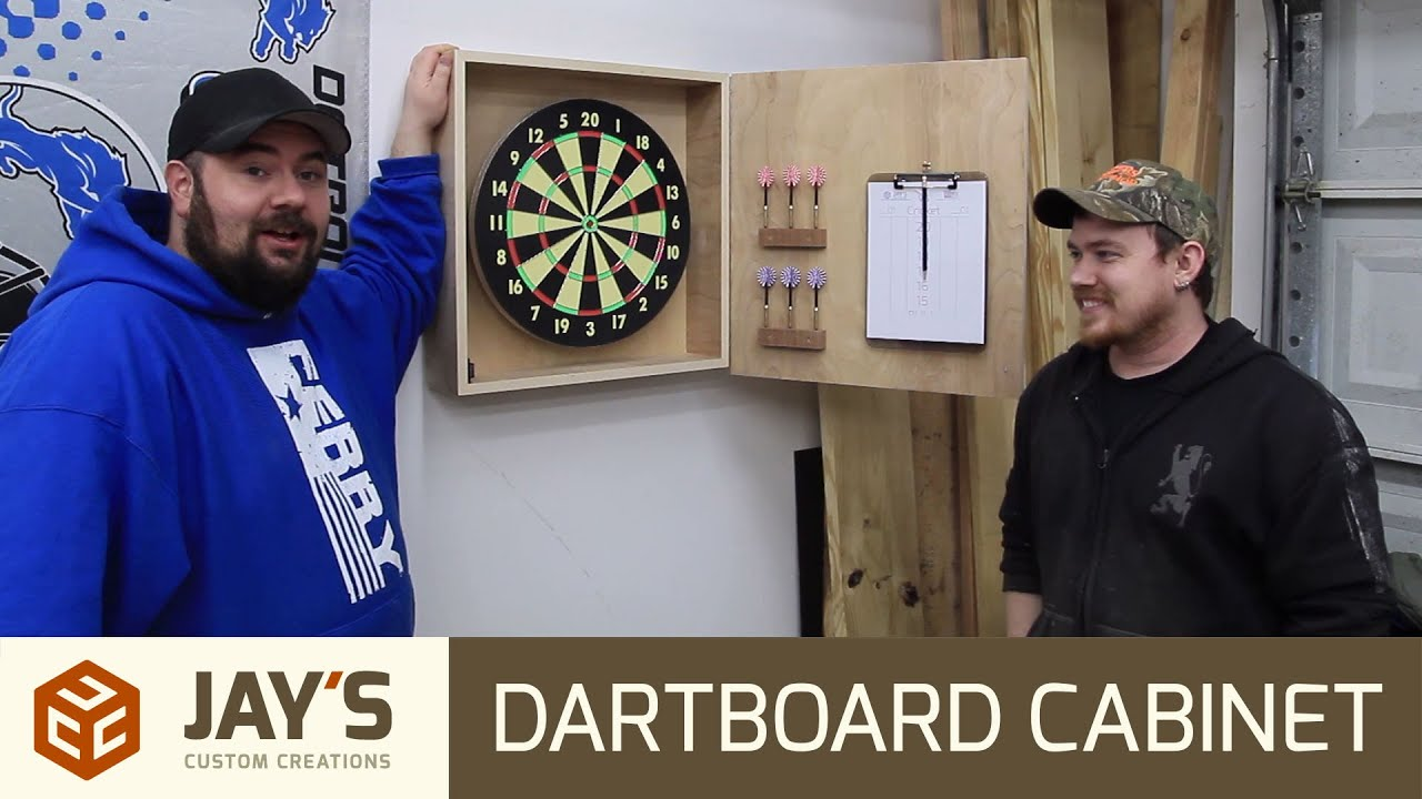 Making A Dartboard Cabinet With Nick Ferry   235   YouTube