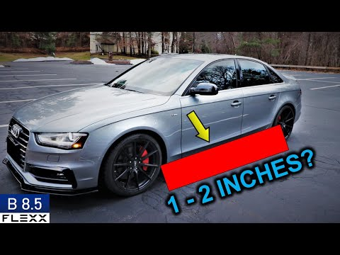 AUDI SIDE SKIRT EXTENSIONS | How to install on 2013+ A4 B8.5 S-Line