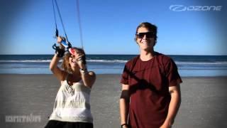 Ozone IGNITION 3-Line Kiteboard Trainer Kite