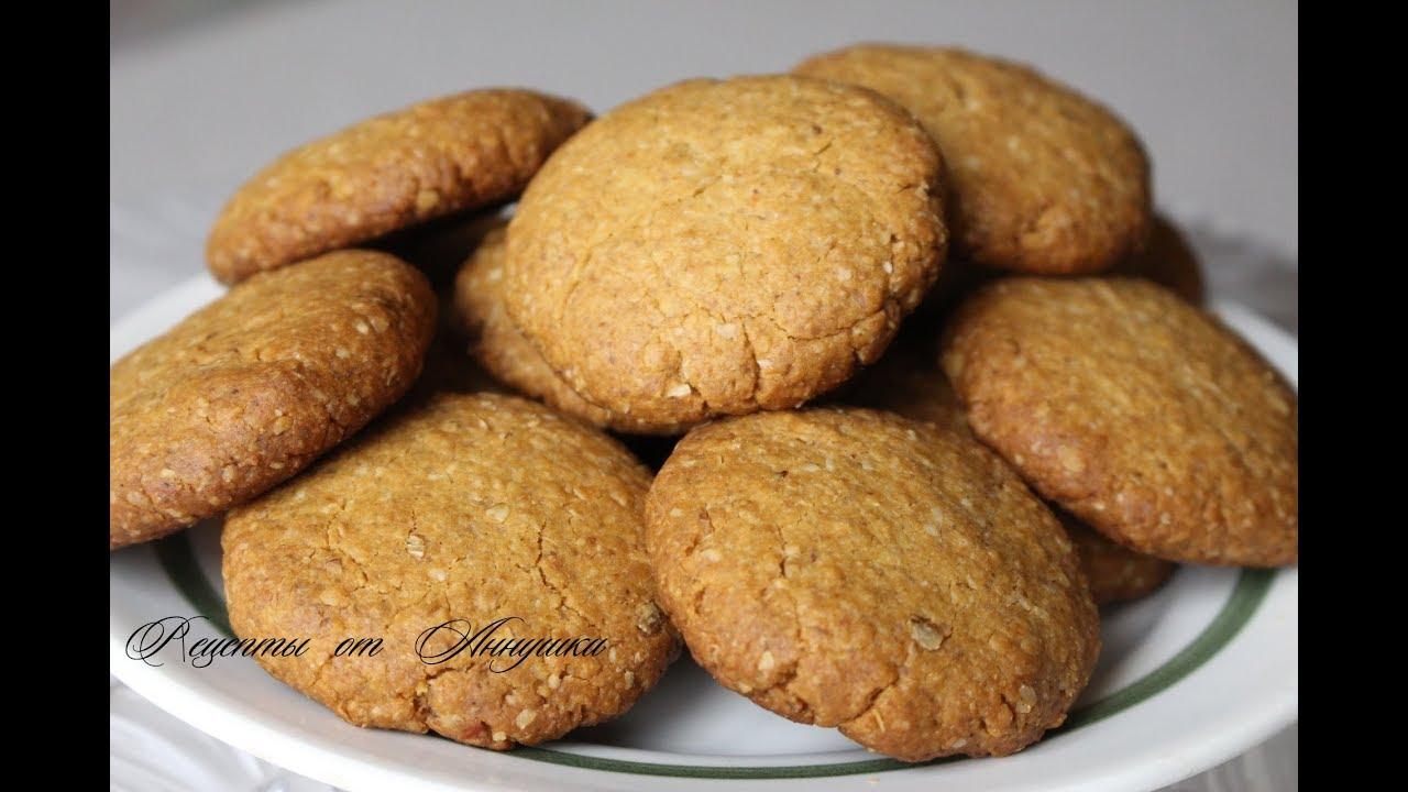 корицей печенья Рецепт овсяного и с медом