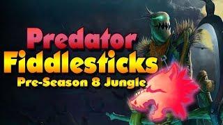 Predator Rune Fiddlesticks | Pre-season 8 Jungle (League of Legends)