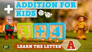 Addition for Kids | Letter A with the Quest Kids