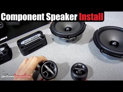 Component Speaker Installation