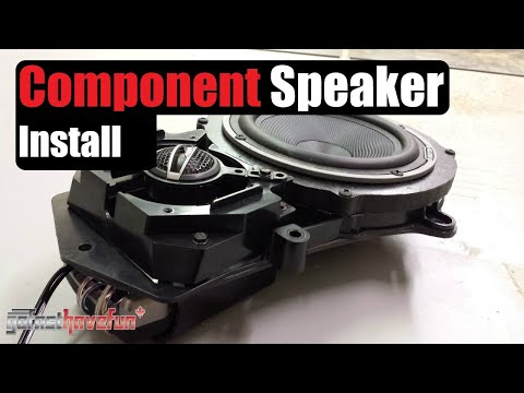 Component Speaker Installation | AnthonyJ350