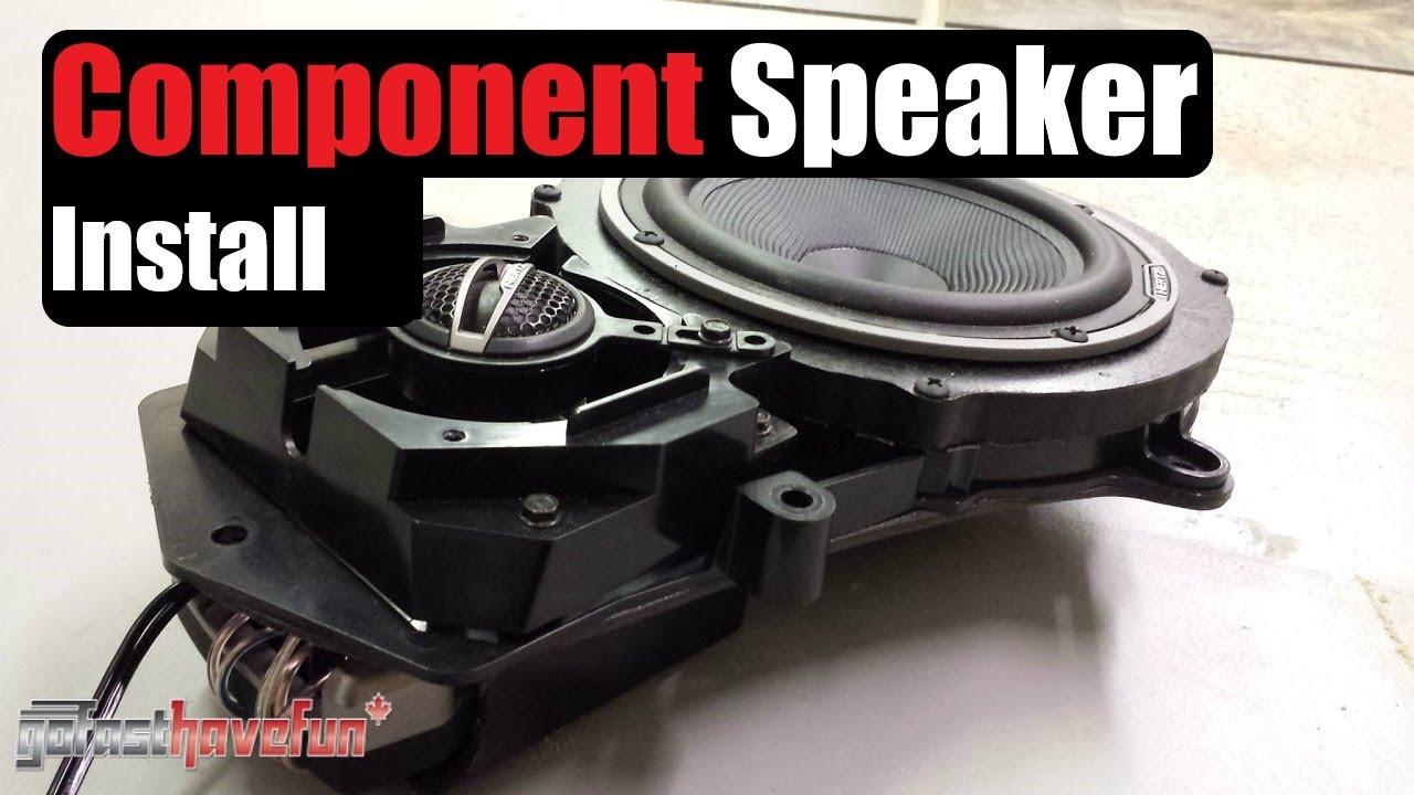 Component Speaker Installation Anthonyj350 Youtube 2000 Honda Civic Wiring