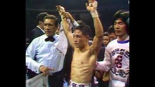 柳明佑 Myung Woo Yuh vs Joey Olivo WBA Light Flyweight Title.