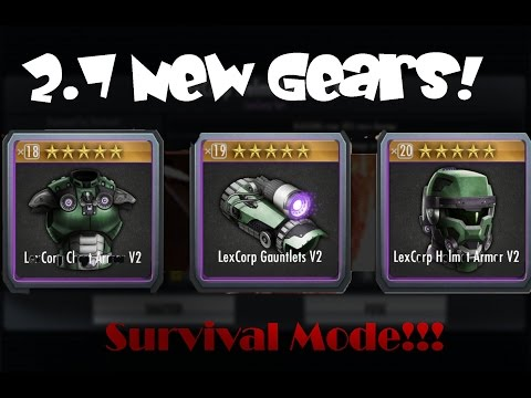 All 2.7 New LexCorp Gears! Injustice Gods Among Us! IOS/Android