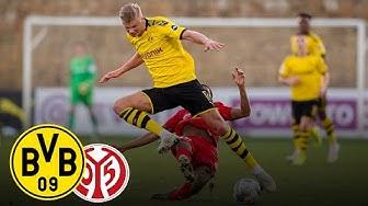 Testspielniederlage bei Haaland-Debüt | BVB - 1. FSV Mainz 05 0:2 | ReLive