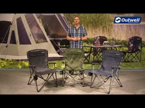 Outwell Spring Hills Camping Chair | Innovative Family Camping