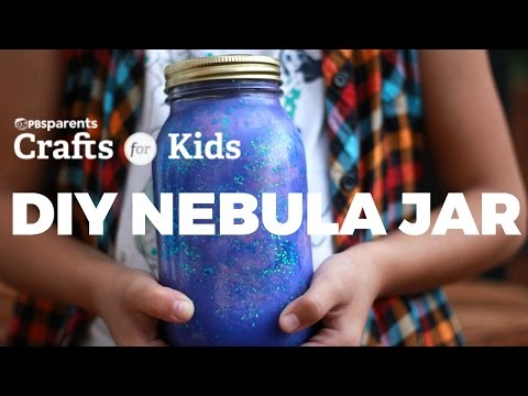 DIY Nebula Jar | PBS Parents | Crafts for Kids