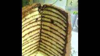 Nice 12 Layer Chocolate Cake